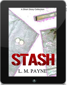 "Click the button to get a free copy of ""STASH and other stories"" by L M Payne."